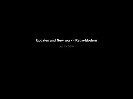 Updates and New work - Retro-Modern