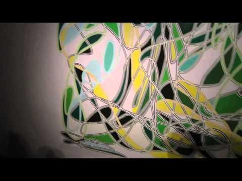 Jennifer Riley Fire-Fangled Feathers at ALLEGRA LAVIOLA GALLERY