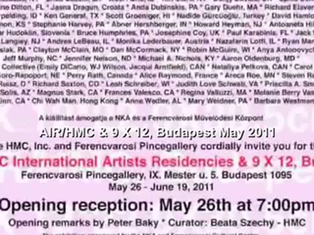 Ferencvarosi Gallery 2011 Opening