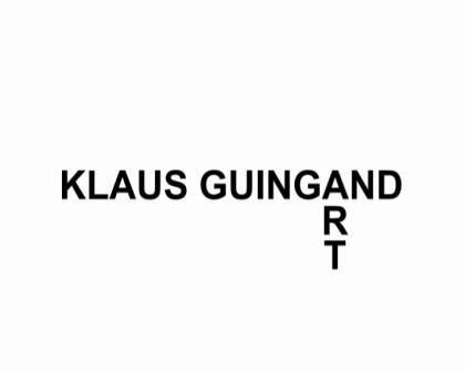 Klaus Guingand art worrks examples