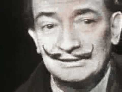 Salvador Dali - Mike Wallace interview 1958 - Part 1/2