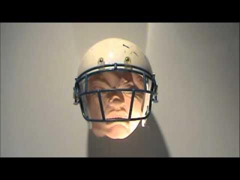 football helmet studio test