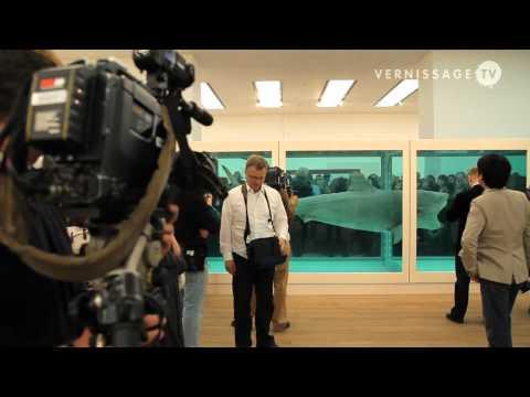 Damien Hirst Retrospective at Tate Modern, London