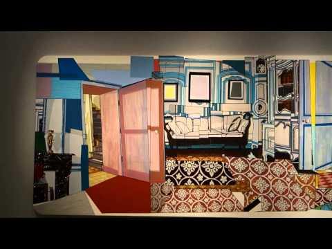 "Mickalene Thomas ""How to Organize a Room Around a Striking Piece of Art"" at LEHMANN MAUPIN"