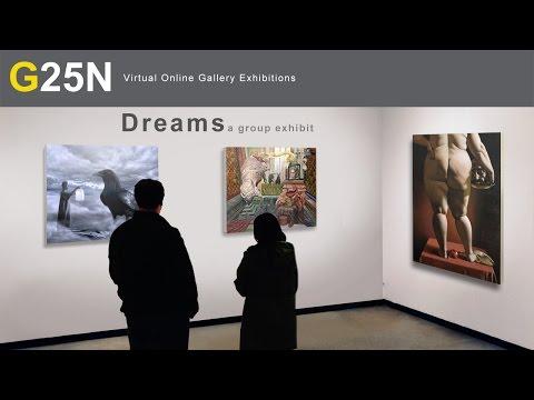G25N Dreams a group exhibit of international fine artist