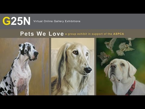 """""""Pets We Love"""" a group exhibition at Gallery 25N supporting the ASPCA"""