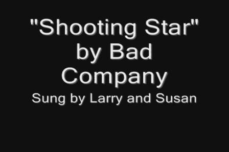 Susan and Larry play tribute to Bad Company