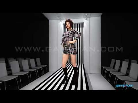 3D Fashion Model Catwalk | Character Modelling with Animations walk tutorial