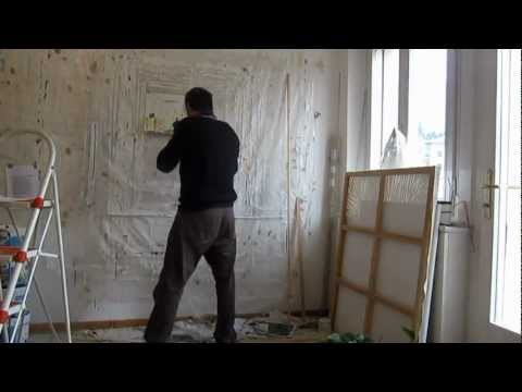 video after a painting by michael szpakowski