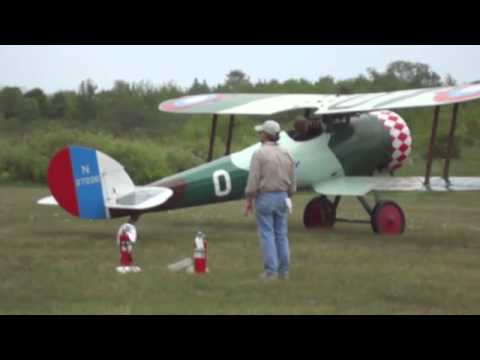 Vintage War Planes Start And Take Off