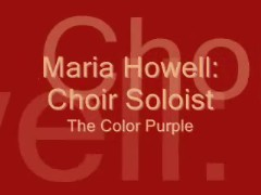 "Maria Howell in the ""Color Purple"""