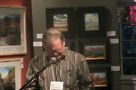 "Robert Morgan reads his poem, ""Honey"""