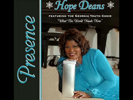 Hope Deans CD Release Announcement
