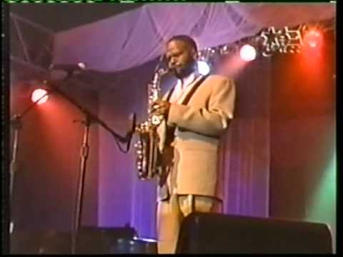 DALE FIELDER  Performing on BET Jazz TV Show
