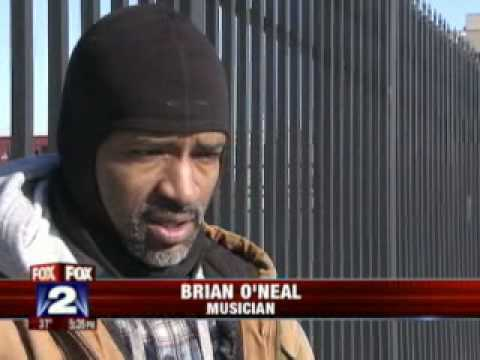 Jazz Pianist Brian O'Neal Spends 48hrs on the streets of Detroit