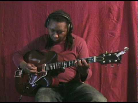 """""""The Christmas Song""""  Nat King Cole Ron Jackson Solo Pickstyle Fingerstyle Electric Guitar Ballad"""