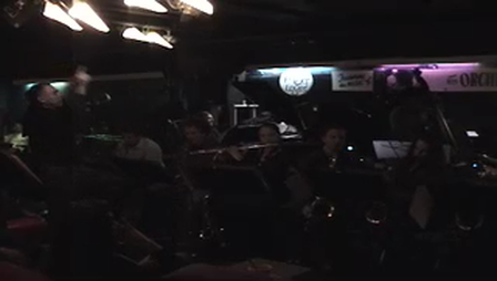 "Tony Lujan Big Band "" Stella By Starlite"""