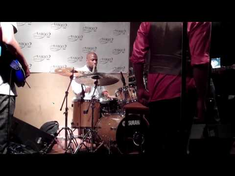 """Wendell Holmes Band """"short drum solo"""""""