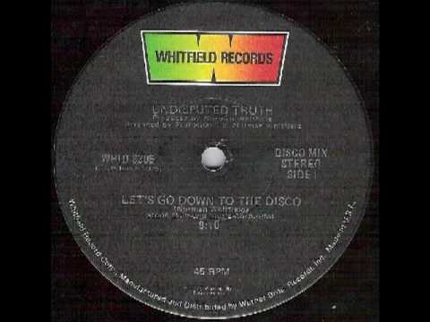 UNDISPUTED TRUTH - LET'S GO DOWN TO THE DISCO (SINGLE - 1976).mpg