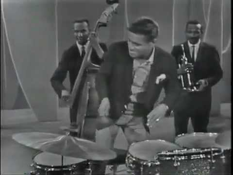 Sammy Davis Jr. on drums & vibes