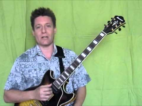 Jazz Guitar Chords, Steve Bloom, Major Scale Chords, Lower 5 Strings, 3rd Inv, Video #8