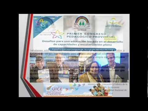 Plataforma Educativa TECNICOOP: Participación en Congreso Pedagógico