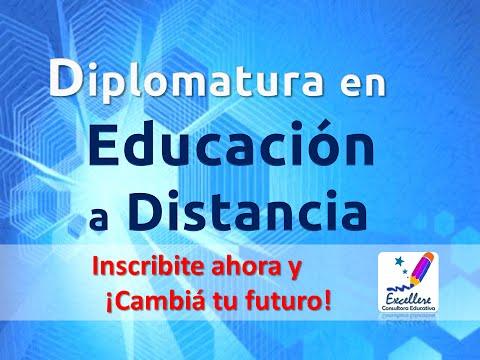 Diplomatura en Educación a Distancia. ¡Nuevo programa!