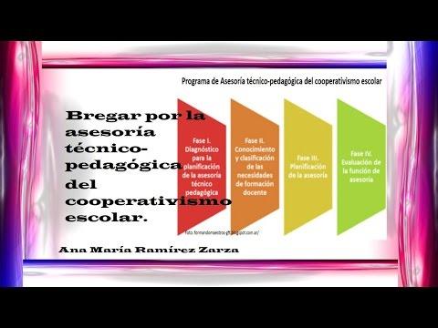Bregar por la Asesoría Técnico-pedagógica del Cooperativismo Escolar.
