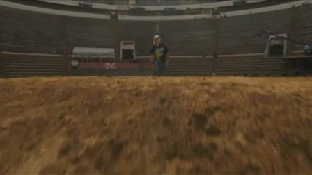 Red Bull X-Fighters Mexico 2009 - Riders Area with Ronnie Renner