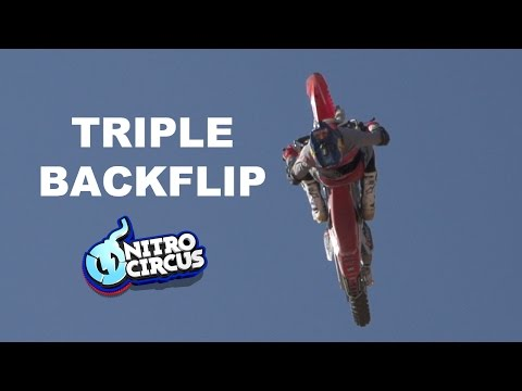It's Coming - First Triple Backflip on a Motorcycle