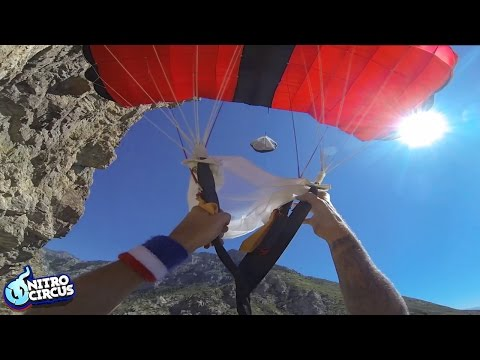 BASE Jumping Goes Real Bad Real Fast - Travis Pastrana's Action Figures