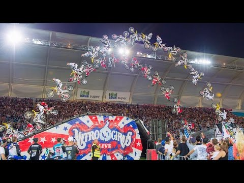 Travis Pastrana Double Flips First Time in 4 Years   Side by Side with Sheeny