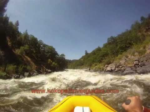 Upper Klamath Whitewater Rafting 2010: A Bird's Eye View