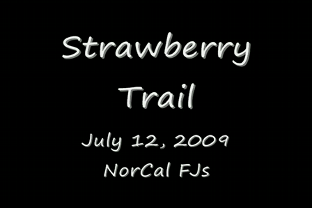 Strawberry Trail - 7/12/2009