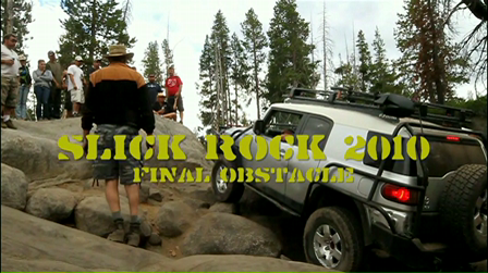 Slick Rock 2010 - Final Obstacle