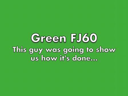 Green FJ60