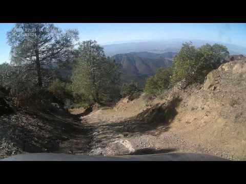 North Peak Mt Diablo 2014-02-23 - Leaving the summit