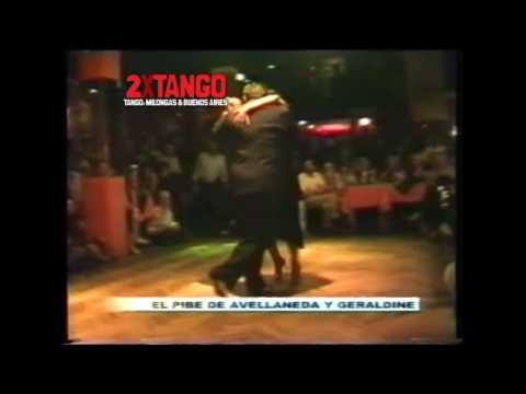 El Pibe Avellaneda y Geraldin Rojas Argentine Tango