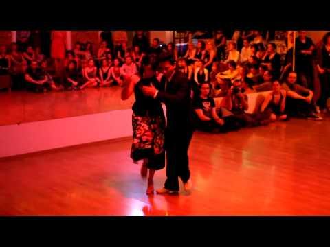ESTEBAN CORTEZ y EVELYN RIVERA on Moscow Tango Lab 2010 - 1