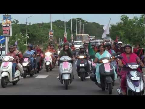 One Billion Rising Trivandrum - Two Wheeler Rally