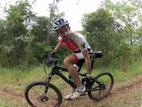 How to Heel Drop for better mountain bike control