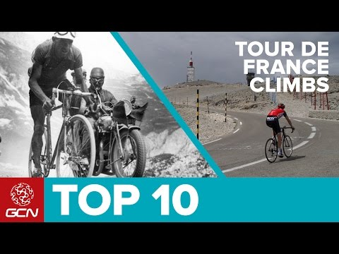 Top 10 Greatest Tour De France Climbs