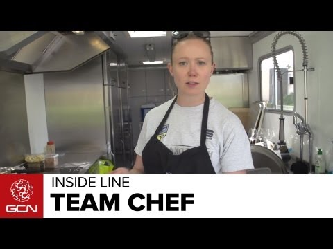 Tour De France 2013 - Inside The Saxo-Tinkoff Kitchen