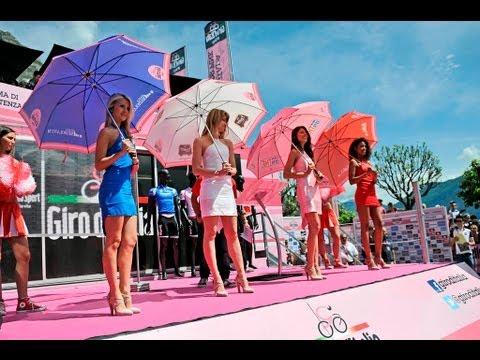 The beauties of the Giro d'Italia.