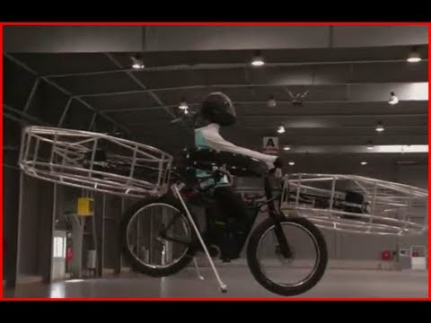 Flying Bike Created in Czech Republic