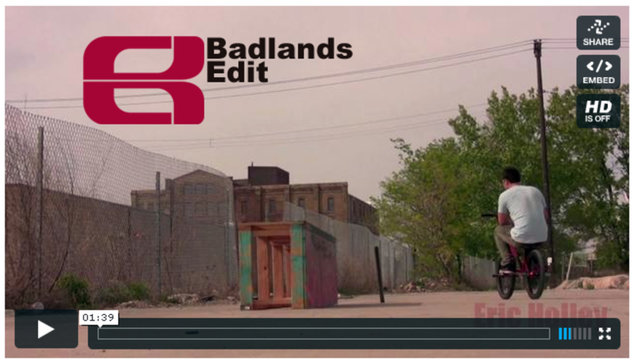 Eastern BMX Badlands Basic Street Riding