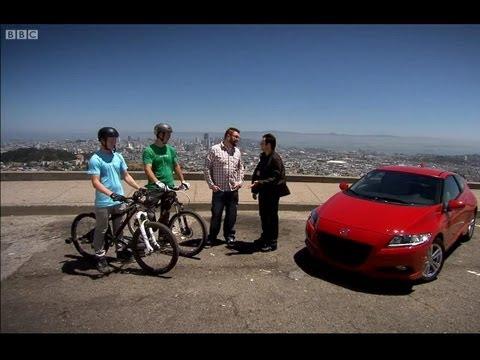 Honda CRZ versus Mountain bikers