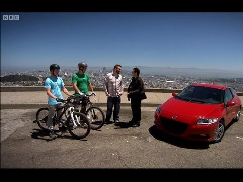 Honda CRZ versus Mountain bikers