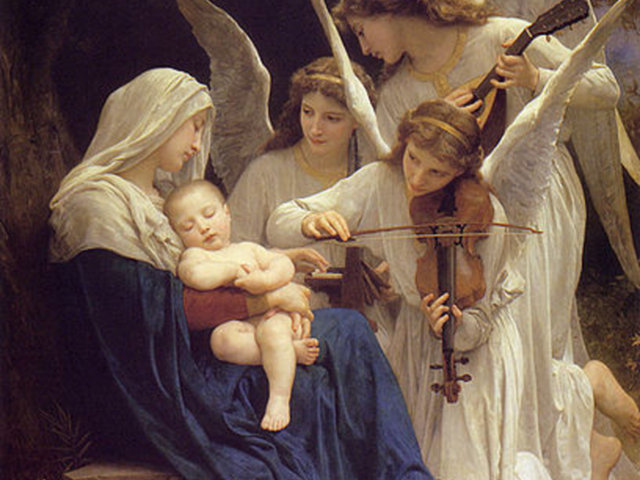 Angels, Joy, and O Come, All Ye Faithful