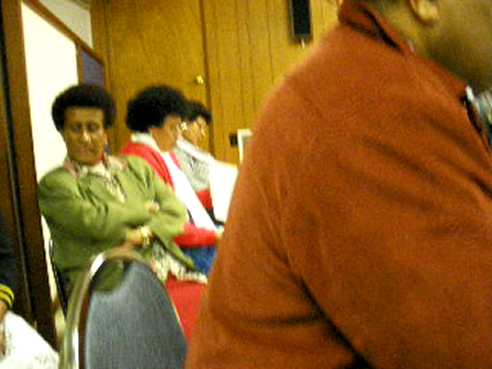 Lia's Sunday at San Rafael Church